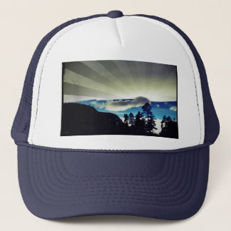 Sinks Canyon Winter Sunburst Trucker Hat