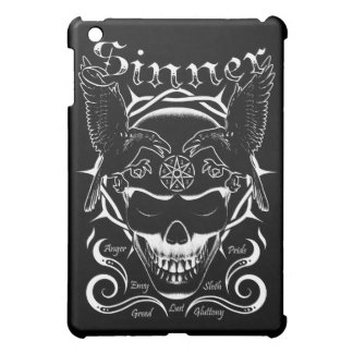 Sinner Skull iPad Mnni Cases Cover For The iPad Mini