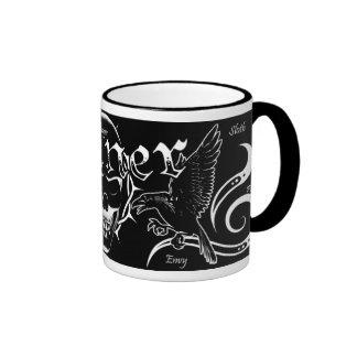 Sinner Skull mug (white)