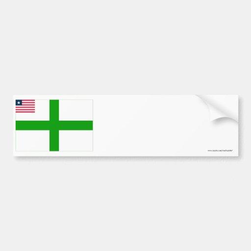 Sinoe County Flag Bumper Sticker