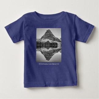Sinopah Mountain Reflection Design Baby T-Shirt