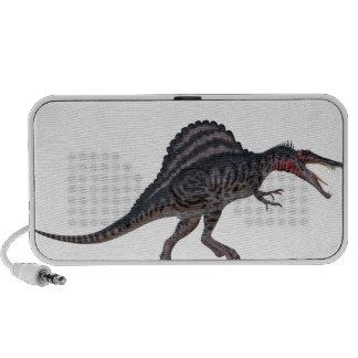 Sinosaurus Side View iPhone Speakers