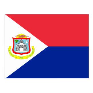 Sint Maarten Flag Post Card