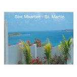 Sint Maarten - St. Martin Ocean Blue Seascape Post Cards