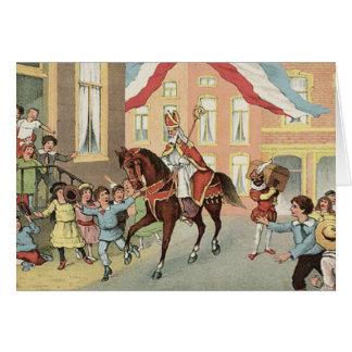 Sinterklaas Dutch St. Nick Vintage St. Nicholas Card