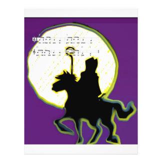 sinterklaas op paard flyers
