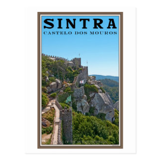 Sintra - Castle of the Moors Postcard