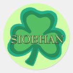 Siobhan Irish Round Sticker