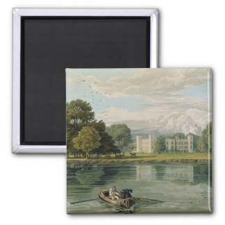 Sion House, engraved by Robert Havell (1769-1832) Refrigerator Magnets