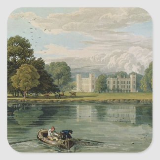 Sion House, engraved by Robert Havell (1769-1832) Square Sticker