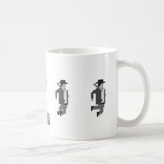 sionco jumping noir detective mug.