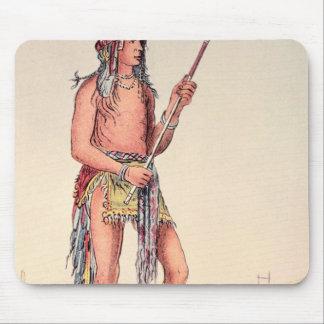 Sioux ball player Ah-No-Je-Nange Mouse Pad