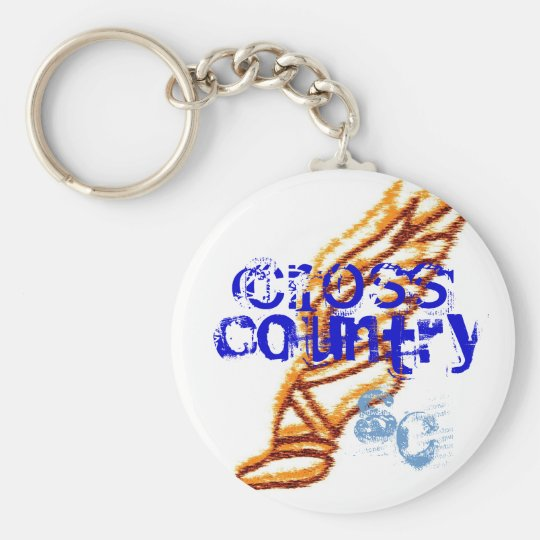 Sioux Centre cross country Keychain