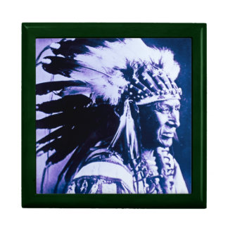 Sioux Chief White Swan Vintage Jewelry Boxes
