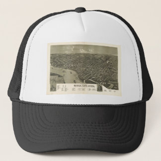 Sioux City, Iowa in 1888 Trucker Hat