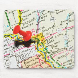 Sioux City, Iowa Mouse Mat