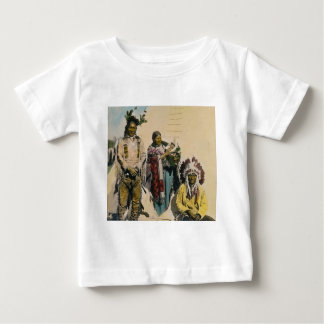 Sioux Indian Grey Eagle and Family Stereoview Tee Shirt
