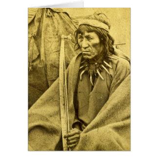 Sioux Indian O-Ta-Dan Greeting Card