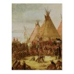 Sioux War Council Post Card