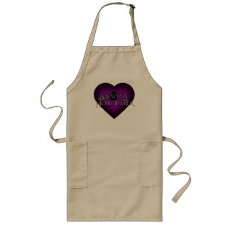 Siouxsie Homemaker Knitting (Violet) Long Apron