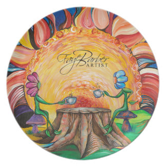 Sip of Sunshine Art Plate