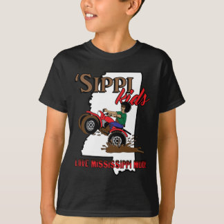 sippi kids love mississippi mud.png T-Shirt