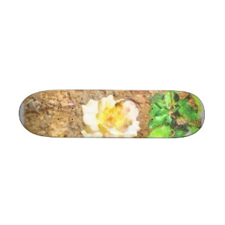 Sipping away at pollen 21.3 cm mini skateboard deck
