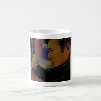 Sipping Cappucino Mug