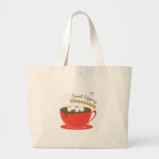 Sipping Chocolate Jumbo Tote Bag