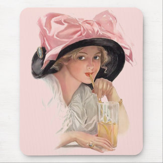 Sipping Soda Mouse Mat