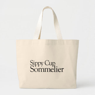 Sippy Cup Sommelier Tote Bag