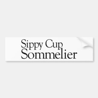 Sippy Cup Sommelier Bumper Stickers