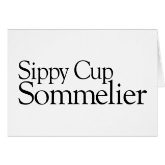 Sippy Cup Sommelier Cards