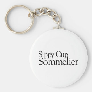 Sippy Cup Sommelier Keychains