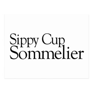 Sippy Cup Sommelier Postcards