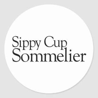 Sippy Cup Sommelier Sticker