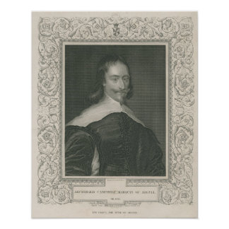 Sir Archibald Campbell, 1st Marquess Poster