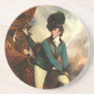 Sir Banastre Tarleton by Joshua Reynolds Drink Coaster