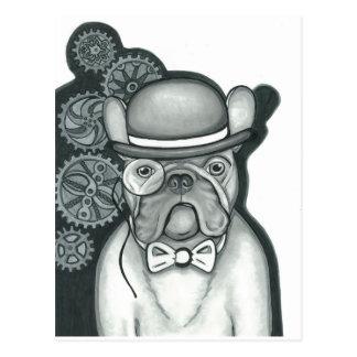 Sir Bouledogue Postcard