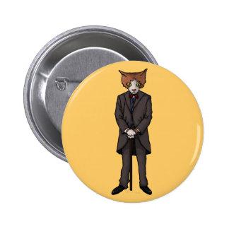 Sir Cat button