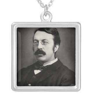 Sir Charles Villiers Stanford Silver Plated Necklace