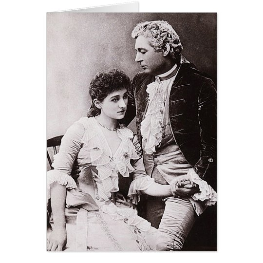 Sir Charles Wyndham and Miss Mary Moore Card