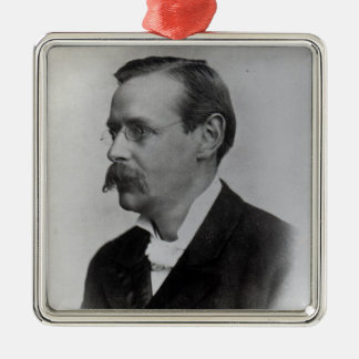 Sir Edmund William Gosse, 1892 Christmas Ornament