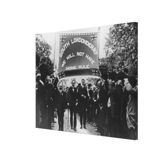 Sir Edward Carson Canvas Print