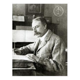 Sir Edward Elgar Postcard