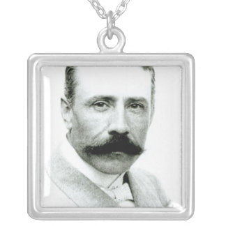 Sir Edward Elgar Silver Plated Necklace