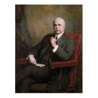 Sir Edward Hopkinson Holden First Baronet Postcard
