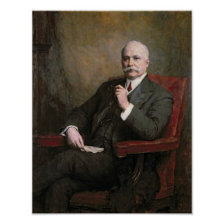 Sir Edward Hopkinson Holden First Baronet Poster