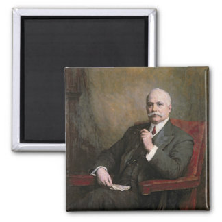 Sir Edward Hopkinson Holden First Baronet Square Magnet