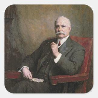 Sir Edward Hopkinson Holden First Baronet Square Sticker